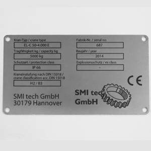 SMI Laserbeschriftung